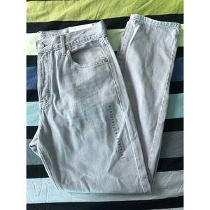 American Eagle Hi-Rise Girlfriend Long Jeans